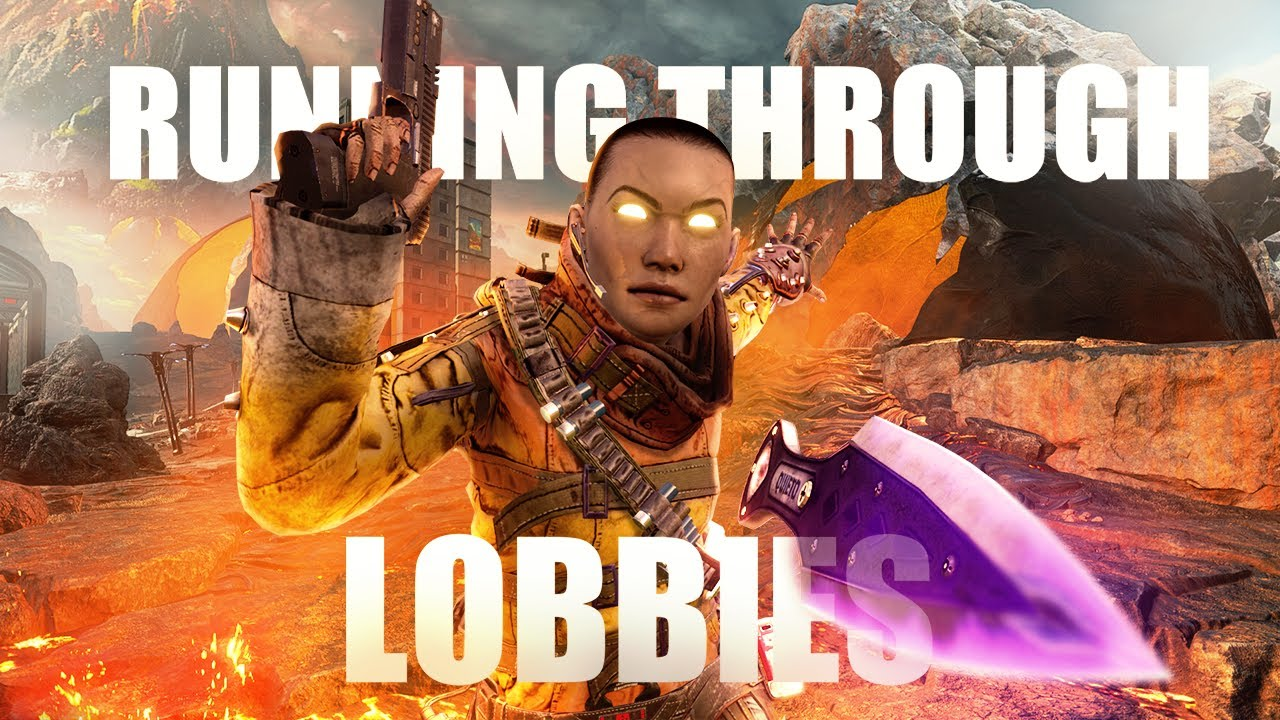 Running Through Lobbies with Movement