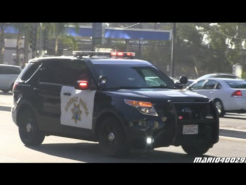 [Secret Service] Police bikes/cars California Highway Patrol, unmarked SUVs  USSS