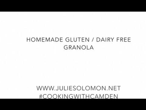 How To: Gluten-Free Dairy-Free Coconut Granola Recipe