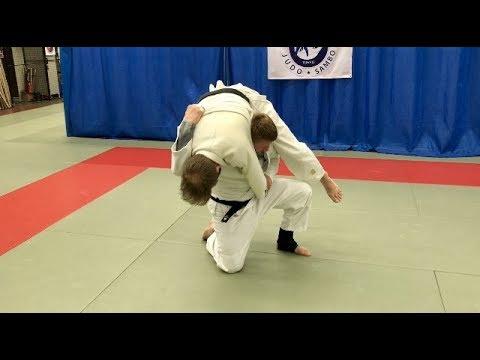 Дзюдо.Мощный бросок с крестным захватом.Броски дзюдо.Judo.Judo throws. amazing throw