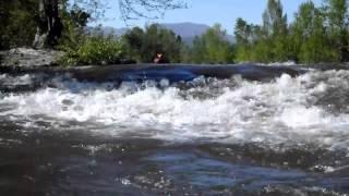 Rivière Beaume - Rapide de l'Arleblanc - 1