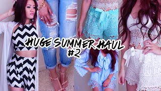 SUMMER HAUL + TRY ON Part 2 | Lilisimply