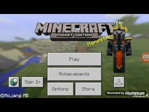 Cara membuat mobil bisa jalan di Minecraft Pocket Edition dan juga untuk memarkirkannya