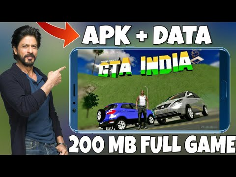 [200 MB] DOWNLOAD GTA INDIA FOR ANDROID | JUST 200 MB | WORKING IN ALL DEVICES | GAMEPLAY PROOF