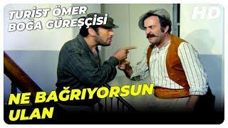Turist Ömer Boğa Güreşçisi - Ömer, Apartman Görevlisini Delirtti  Sadri Alışık Türk Komedi Filmi
