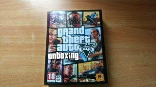 GTA 5 Unboxing & Successful Installation