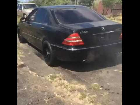 Mercedes W220 S600 V12 - YouTube on