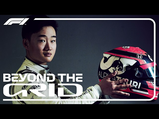 Yuki Tsunoda On His Journey To F1, Team Radio Gold And More   Beyond The Grid   Official F1 Podcast