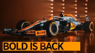 Bold is Back | Monaco GP Livery Reveal | #GulfXMcLaren