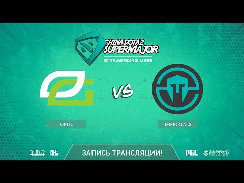 OpTic vs Immortals, China Super Major NA Qual, game 1 [LighTofHeaveN]