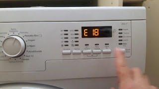 Hata koduna nasıl bakılır-Çamaşır makinesi E18 hatasi- Kapı kilit tutmuyorsa nasıl tamir edilir
