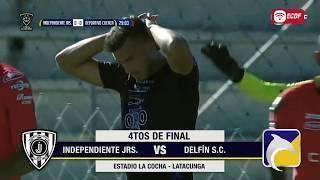 Promo Independiente Jrs Vs Delfín Cuartos De Final Ida Copa Ecuador