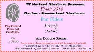 TT Steelband Panorama 2014 - Medium Finals. Pan Elders - Family (by Nelson) (Arr Duvone Stewart)