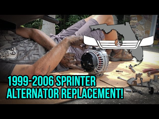T1N Sprinter (2002-2006) Alternator Replacement