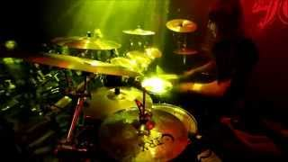 "Nils ""Dominator"" Fjellström - Dark Funeral - Nail Them To The Cross (Drumcam)"