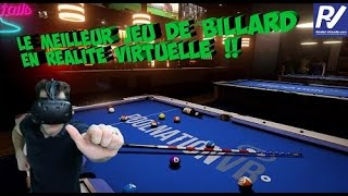 Sports Bar VR - Test du jeu de billard en réalité virtuelle - HTC Vive / Oculus Rift