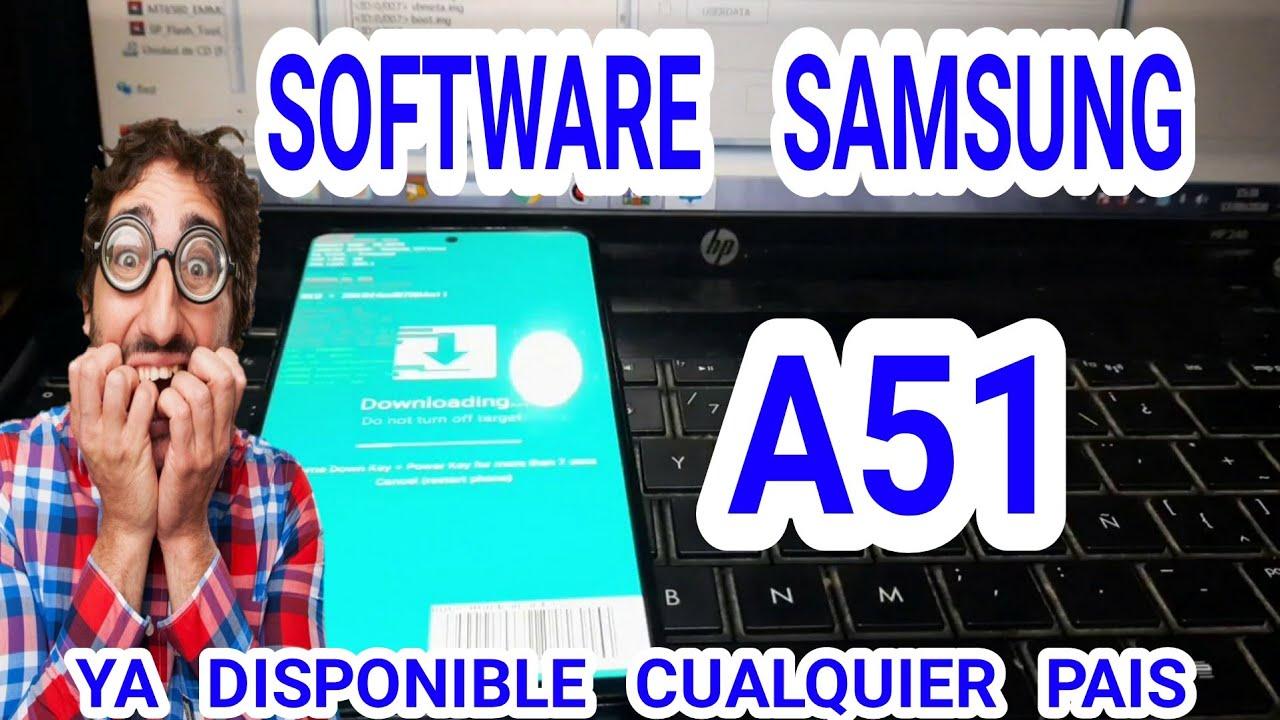 Software samsung galaxy a51 a515f sm-a515f | Firmware samsung Galaxy a51 | Update samsung a51 a515f