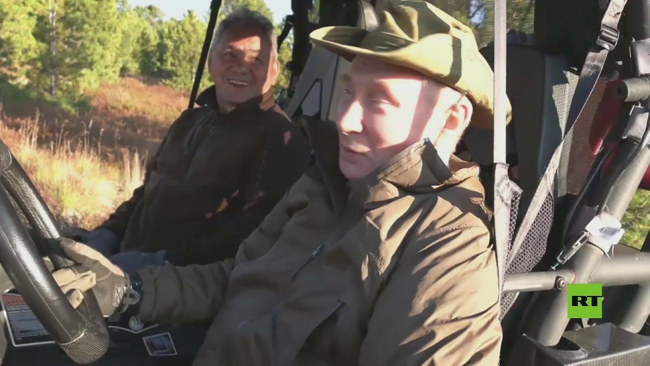 قطيع من الوعول كاد يصطدم بسيارة بوتين في سيبيريا  - نشر قبل 3 ساعة