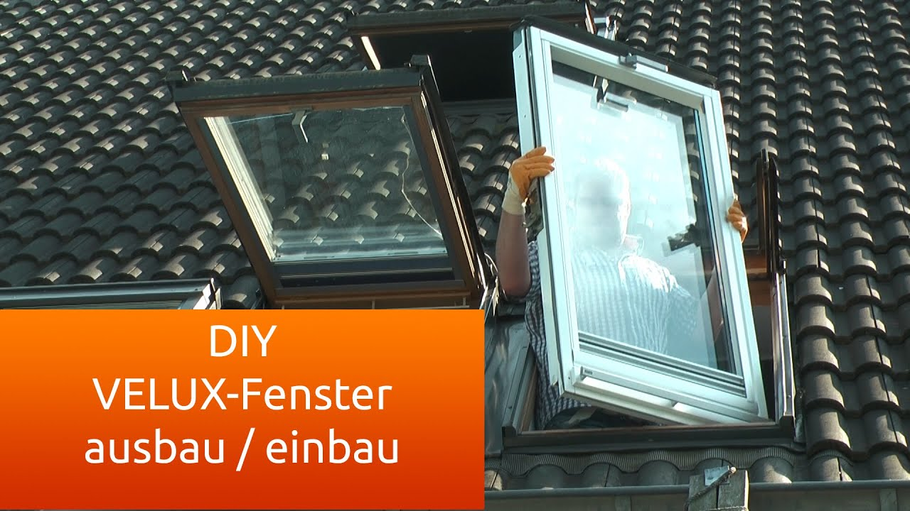 velux fenster ausbau und einbau anleitung deutsch youtube. Black Bedroom Furniture Sets. Home Design Ideas