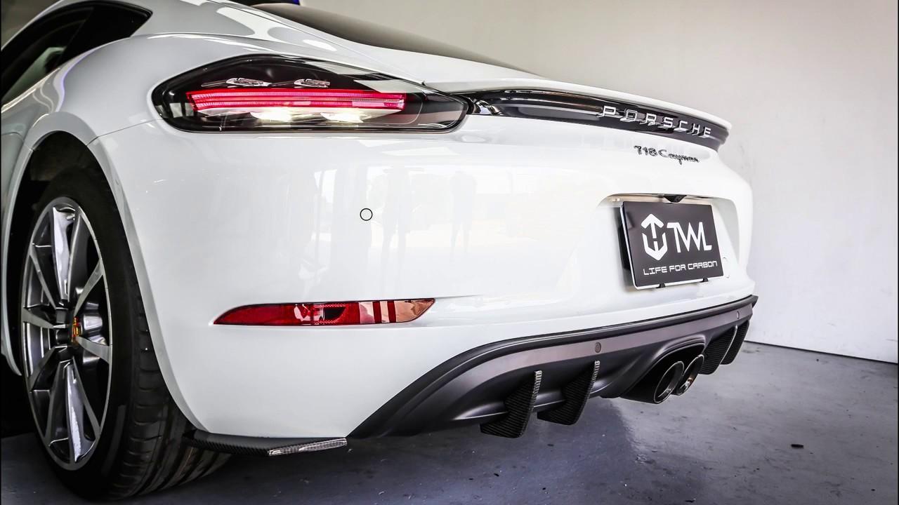 Twlcarbon Porsche 718 Cayman Boxster Vacuum Carbon Fiber Diffuser. Twlcarbon Porsche 718 Cayman Boxster Vacuum Carbon Fiber Diffuser Fins Install Manual. Porsche. Porsche Boxster Bumper Parts Diagrams At Scoala.co