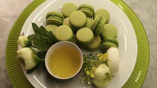 ✅🥞 Bánh Macaron Trà Xanh - Macaron Matcha | Văn Phi Thông |