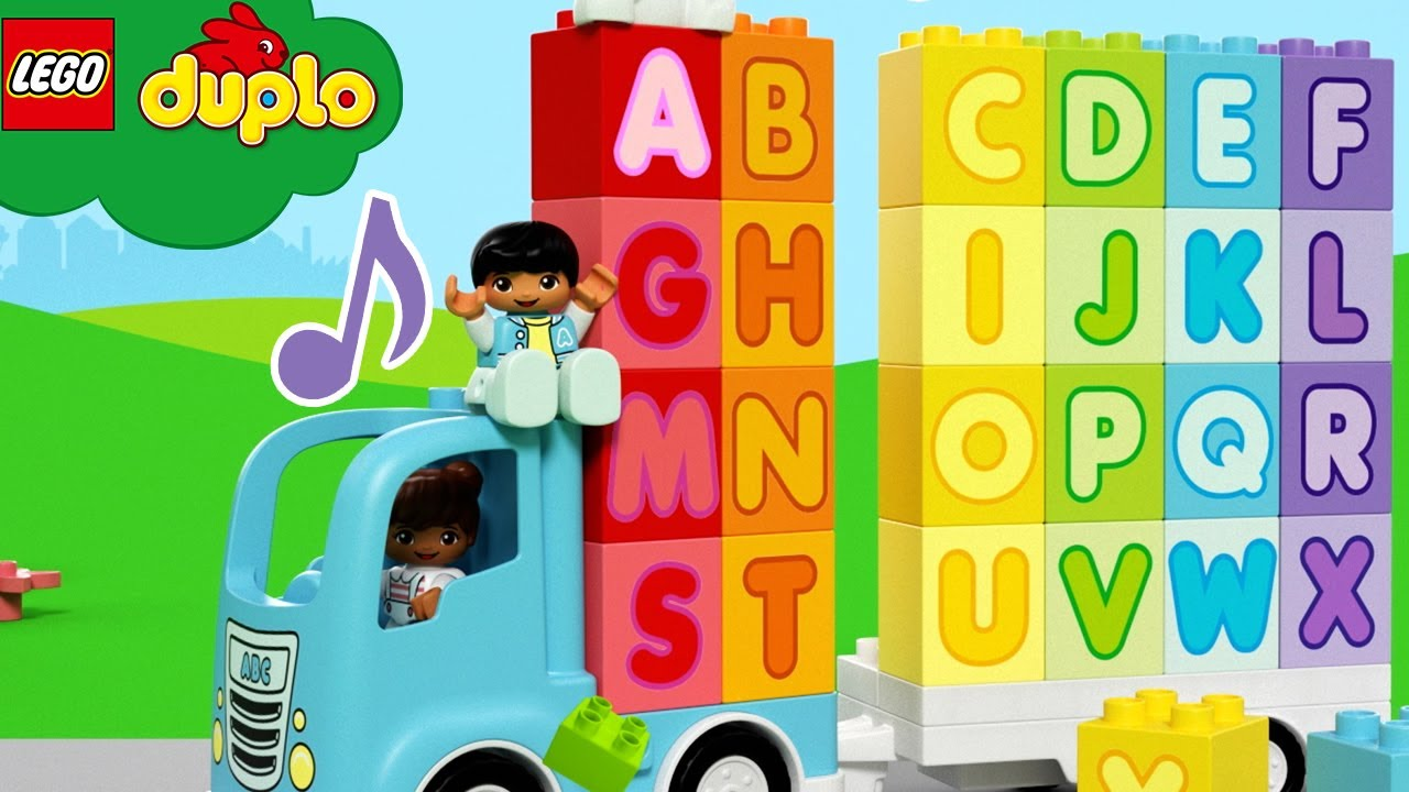 LEGO ABC Blocks - Learn The Alphabet Song | Learning For Toddlers | Nursery Rhymes & Kids Songs