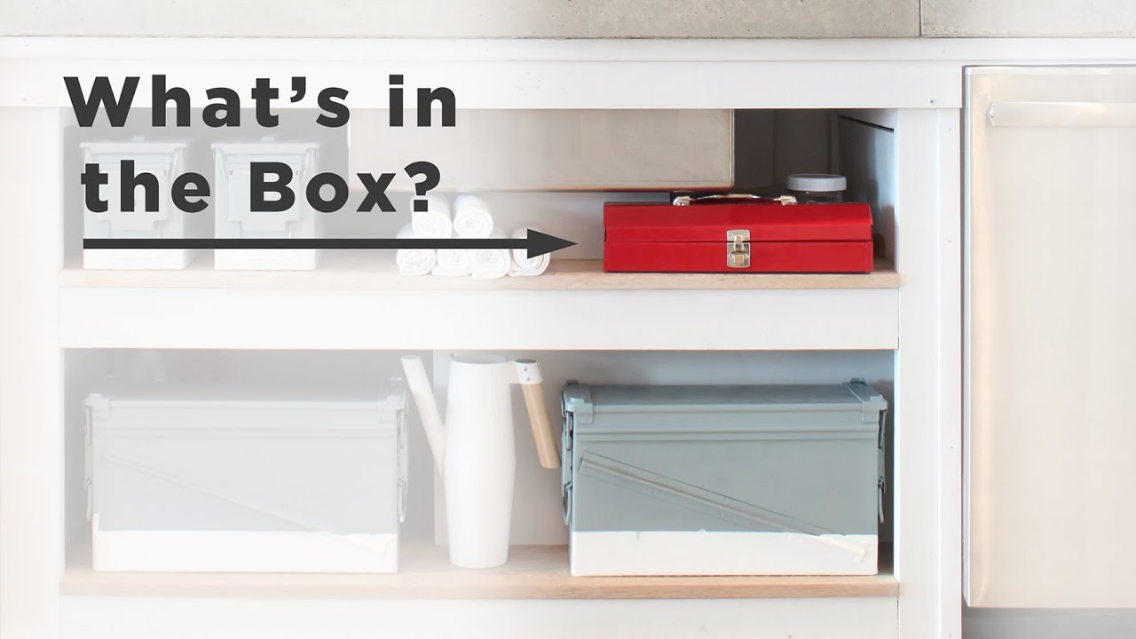 what is in the box diy kitchen accessories for open shelves youtube