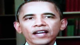 Barack Obama Reptilian Eyes July 2011  Decide For Yourself...