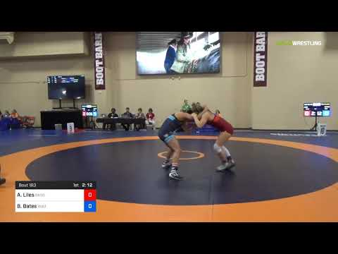 2018 Marine Corps US Open/Senior Women's Freestyle 62 7th Place - Alexandria Liles (Daug) Vs. Brit