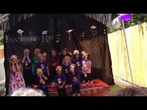 Le Petite Dance Company perform at Little Acorn Montessori Academy graduation 2014