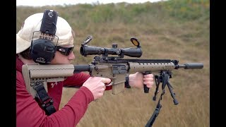 One Of My Favorite Rifles - Suppressed MK12 SPR