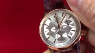 BURAN 31681/2129335 Chronograph Poljot Caliber 31681 redgold