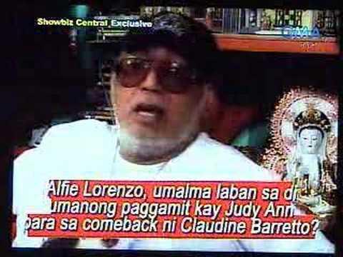 alfie lorenzo VS star magic on showbiz central