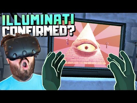 SECRET ILLUMINATI ENDING FOUND - Please, Don't Touch Anything VR Gameplay - VR HTC Vive