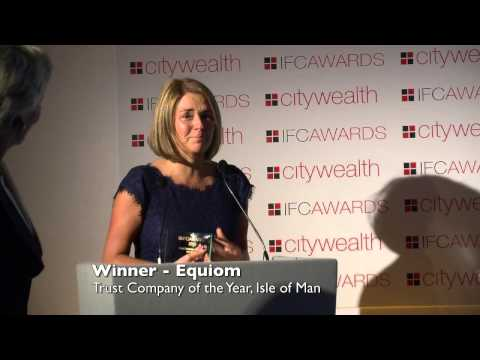Citywealth International Financial Centre Awards 2015 - Trust Company of the Year - Isle of Man