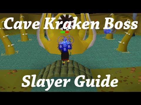 Oldschool Runescape - Cave Kraken Boss Guide | Kraken Slayer Task