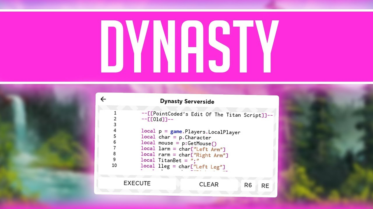 Server Side Executor Roblox Script Dynasty Serverside Best Roblox Exploit Insane Script