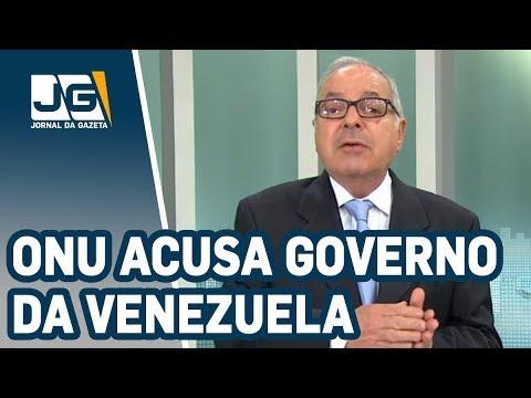 João Batista Natali / ONU acusa governo da Venezuela de executar opositores