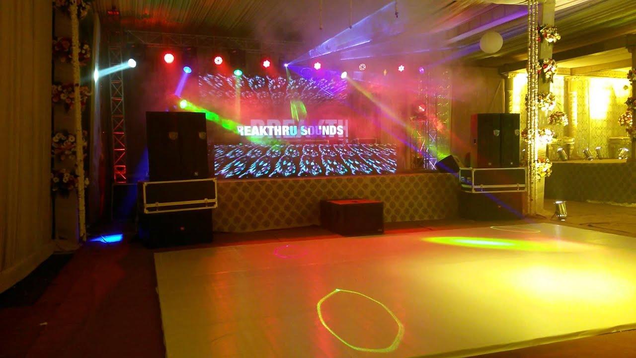 Best Dj Led Wall Setup Akm Resort Zirakpur Breakthru