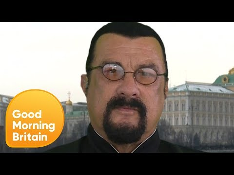 Steven Seagal Calls NFL Protests 'Disgusting'  Good Morning Britain