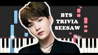 BTS (방탄소년단) - Trivia 轉 : Seesaw (Piano Tutorial)