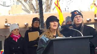 2018 Santa Fe New Mexico Women's March - Karen Cain and Nancy McDonald