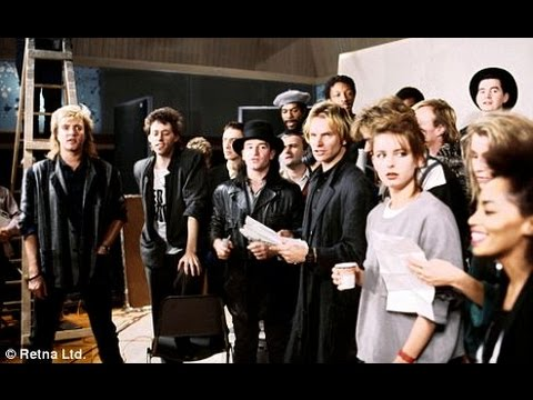 Band Aid - Do They Know its Christmas - The Making of - 1984 Video ...
