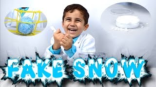 Science of Orbeez, Fake Snow and How Polymers Work | Kid Science experiment