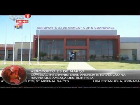 Cuito Cuanavale: Aeroporto 23 de Março
