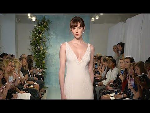 THEIA New York Bridal Fashion Week Fall 2018 - Fashion Channel