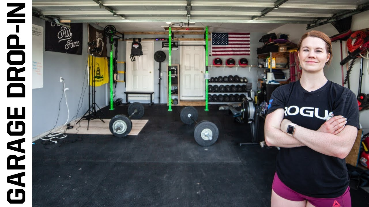 Personal trainer turns garage into a crossfit gym garage gym