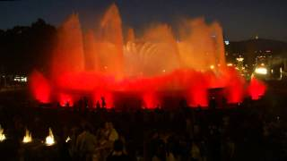 Поющие фонтаны в Барселоне(Барселона. Площадь Испании. Холм Монжуик.Национальный дворец. Поющие фонтаны. Июнь,2012 год., 2012-11-01T20:21:12.000Z)
