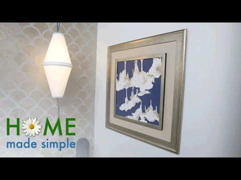 DIY: Make a Pendant Light with 2 Standard Lampshades | Home Made Simple | Oprah Winfrey Network