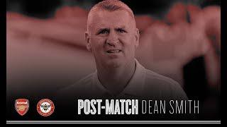 Dean Smith post Arsenal
